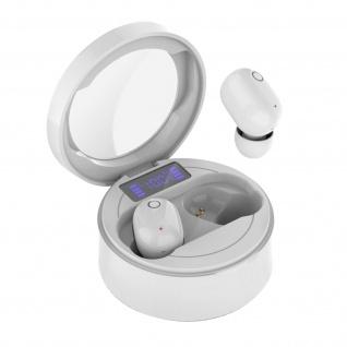 Bluetooth Wireless Headset mit Touch Steuerung und Mikrofon ? Weiß