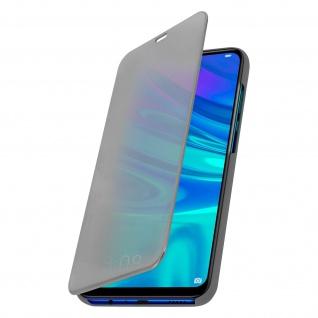 Huawei P Smart 2019, Honor 10 Lite Cover mit Spiegeleffekt - Silber