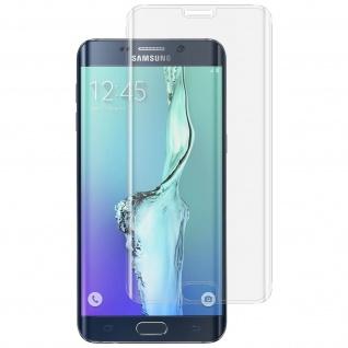 Displayschutzfolie Hartglas abgerundete Ecken Galaxy S6 Edge Plus - Transparent
