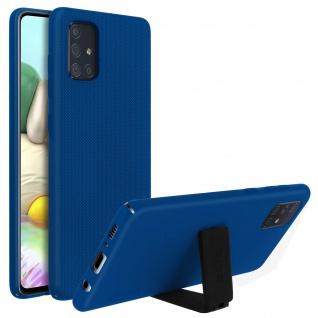 Nillkin Super Frosted Shield Samsung Galaxy A71 Polycarbonat Handyhülle - Blau