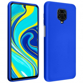 Soft Touch Handyhülle Xiaomi Redmi Note 9 Pro Max / Note 9 Pro / Note 9S - Blau