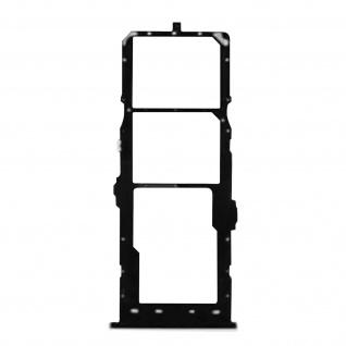 2x SIM + 1x Micro-SD Kartenhalter Ersatzteil für Samsung Galaxy A11 ? Schwarz