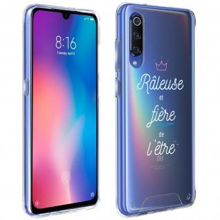"""Handyhülle für Xiaomi Mi 9, Made in France ? """" Râleuse"""" Design"""