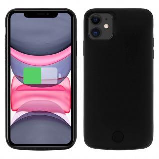 2-in-1 Hartschalen-Akkuhülle iPhone 11 Schwarz
