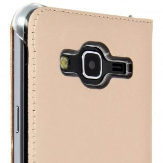 S-View Flip-Schutzhülle für Samsung Galaxy J3 - Gold - Vorschau 5