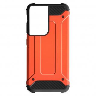 Defender II schockresistente Schutzhülle für Samsung Galaxy S21 Ultra â€? Orange