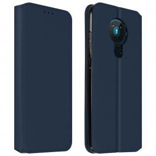 Kunstleder Cover Classic Edition Nokia 5.3 ? Blau
