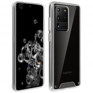 Cristal Hybrid Schutzhülle für Samsung Galaxy S11 Plus - Transparent