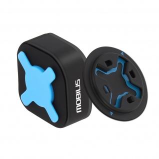 Klebe-Wandhalterung + Securelock-Adapter, Mobilis U.Fix Home Kit - Schwarz