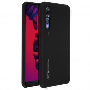 Huawei P20 Pro Soft-Touch Backcover, Original Huawei Schutzhülle - Schwarz