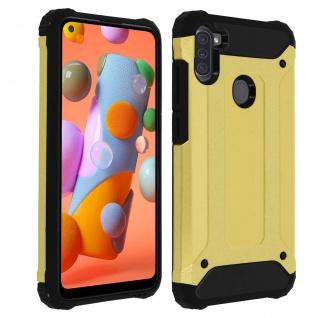 Defender II schockresistente Schutzhülle Samsung Galaxy A11 - Gold