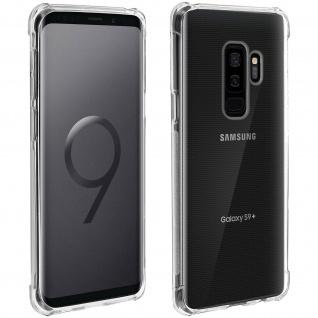 Akashi Gelhülle mit verstärkten Ecken für Samsung Galaxy S9 Plus - Transparent