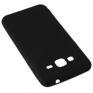 Samsung Galaxy J3 schwarze ultradünne Schutzhülle aus Silikon