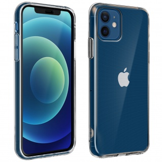360° Protection Pack für Apple iPhone 12 / 12 Pro: Cover + Displayschutzfolie