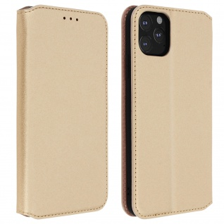 Kunstleder Cover Classic Edition Apple iPhone 11 Pro - Gold