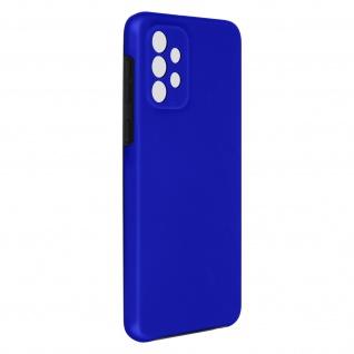 Schutzhülle für Samsung Galaxy A72, Vorder- + Rückseite ? Blau