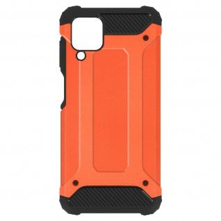 Defender II schockresistente Schutzhülle für Samsung Galaxy A12 â€? Orange