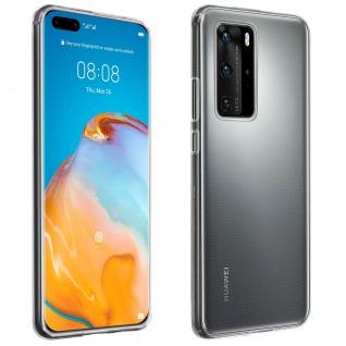 Huawei P40 Pro Schutzhülle Silikon Second Skin - Transparent