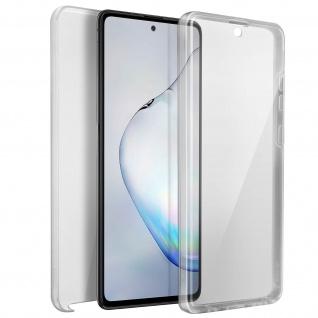 Schutzhülle für Samsung Galaxy Note 10 Lite, Vorder- + Rückseite ? Transparent