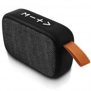 F4276 Bluetooth kabelloser BTS Lautsprecher mit Mikrofon - Silber