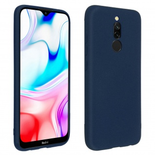 Schutzhülle aus Silikon, dunkelblaue Gelhülle für Xiaomi Redmi 8 / 8A
