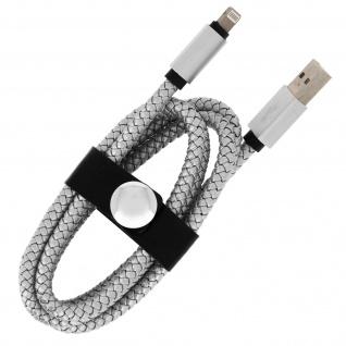 iPhone/iPad/USB-Kabel Silber ? Moxie ? Aufladen & Synchronisierung - Vorschau 3