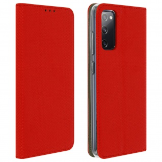 Samsung Galaxy S20 FE Flip Cover mit Standfunktion � Rot