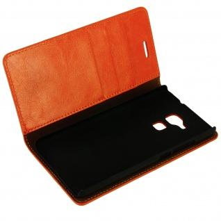Flip-Cover im Brieftaschenstil für Honor 5C - Camel - Standfunktion