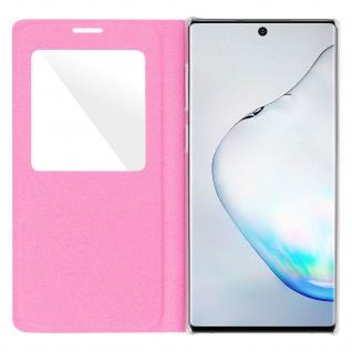S-View Flip Cover mit Sichtfenster & Kartenfach für Galaxy Note 10 - Rosa - Vorschau 4