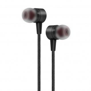 Inkax 3D-Stereo Kopfhörer, Mikrofon/Fernbedienung 3.5mm Klinkenstecker â€? Schwarz