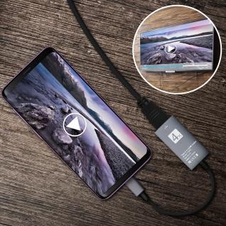 USB Typ-C auf HDMI 4K Adapter Kabel Kabellänge 15cm - Vorschau 4