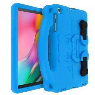 Stoßfeste Panda Tablet-Schutzhülle Samsung Galaxy Tab A 10.1 2019 ? Blau