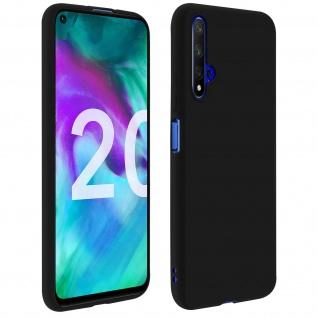 Honor 20 / Huawei Nova 5T Soft Touch Silikonhülle, soft case - Schwarz