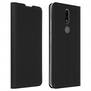 Klappetui mit Kartenfach & Standfunktion Nokia 2.4 ? Schwarz