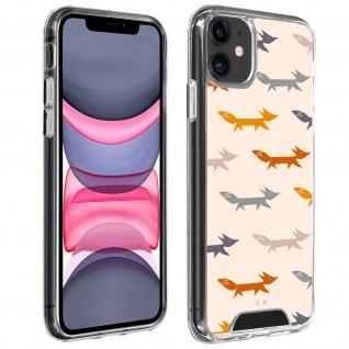 Stoßfeste Handyhülle für Apple iPhone 11, Made in France ? Füchse Design
