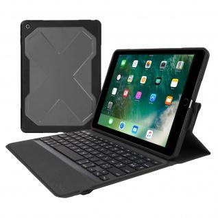 Zagg Rugged Messenger Case + AZERTY Tastatur iPad 9.7 2017/ 2018 und iPad 5