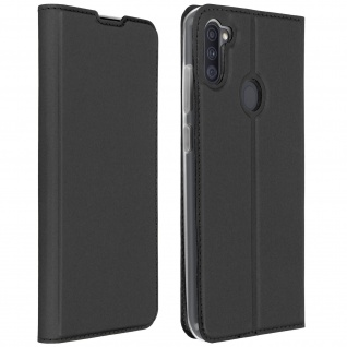 Klappetui mit Kartenfach & Standfunktion Samsung Galaxy A11 - Schwarz