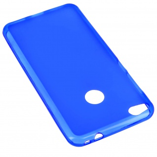 Unverbrüchliche blaue Schutzhülle aus hochwertigem Silikon Huawei P8 Lite 2017