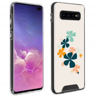 Handyhülle für Galaxy S10 Plus, Made in France ? Kleeblatt Design
