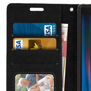 Flip Stand Cover Brieftasche & Standfunktion für Sony Xperia 10 - Schwarz - Vorschau 5