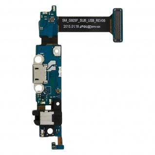 Micro-USB Ladeanschluss + Mikro + 3.5 Jack Ersatzteil für Galaxy S6 Edge