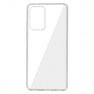 Samsung Galaxy A52 Schutzhülle Silikon Second Skin - Transparent
