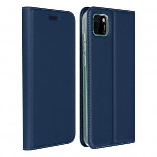 Klappetui mit Kartenfach & Standfunktion Huawei Y5p - Dunkelblau