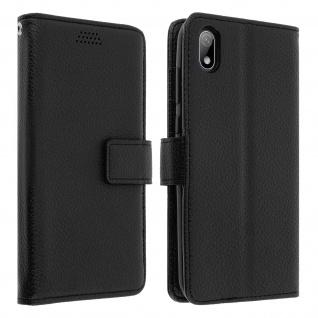 Huawei Y5 2019 Flip-Cover mit Kartenfächern & Standfunktion â€? Schwarz