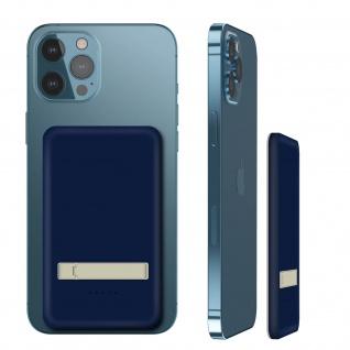 Powerbank MagSafe iPhone - 5000mAh / Lightning und USB-C Ausgang - Blau