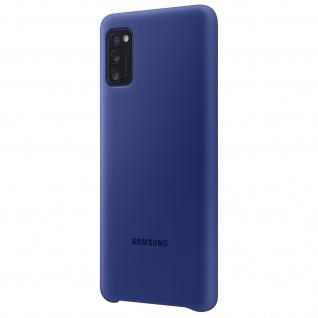 Original Samsung Soft Touch Cover Silikon für Samsung Galaxy A41 - Dunkelblau