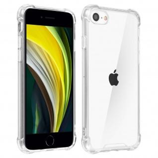 Stoßfeste Schutzhülle aus Silikon für Apple iPhone 7 / 8 / SE 2020 - Transparent