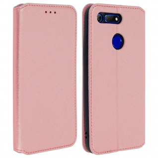 Kunstleder Cover Classic Edition Honor View 20 - Rosegold