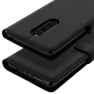 Flip Stand Cover Brieftasche & Standfunktion für Sony Xperia 1 - Schwarz - Vorschau 5