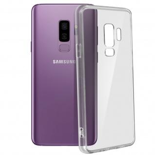 Crystal stoßfeste Schutzhülle + Bumper cover für Galaxy S9 Plus - Transparent